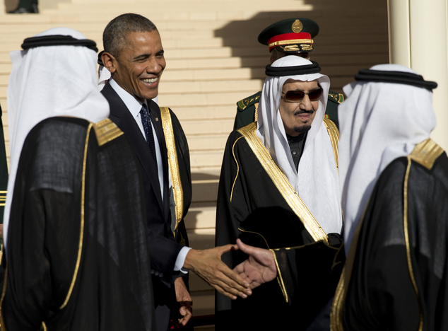 Saudi King Fails To Meet Obama Off Plane At Riyadh Airport