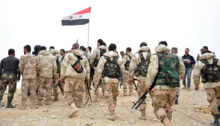 Syrian Forces Enter Islamic State Held Town Near Palmyra