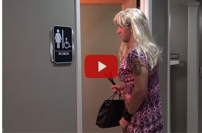 YouTube Transgender Bathroom 'Experiment' Results In Screams Of Outrage (Video)