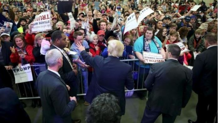 Trump Sued In Kentucky By Three Who Say He Incited Crowd To Violence