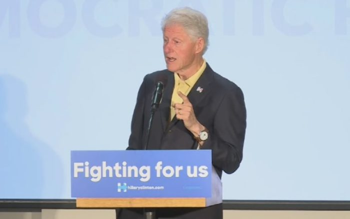 Bill Clinton: Probe Of Hillary's Emails Is Part Of A Political 'Game' (Video)
