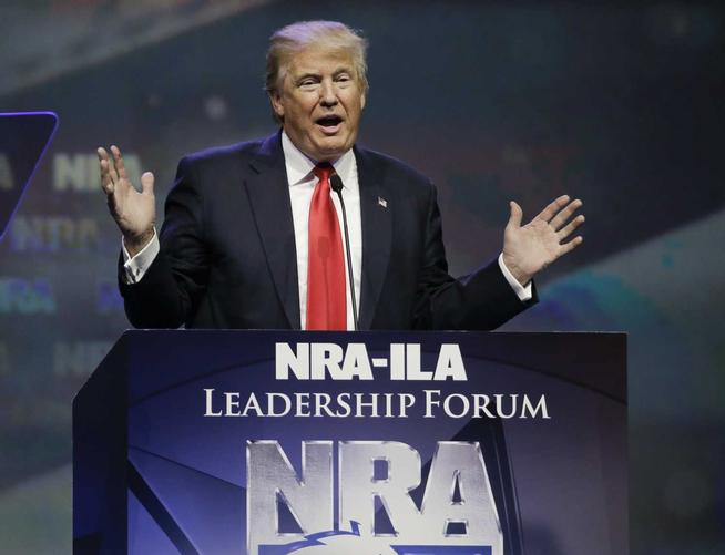 NRA-Backed Trump Will Get Rid Of Gun-Free Zones (Video)