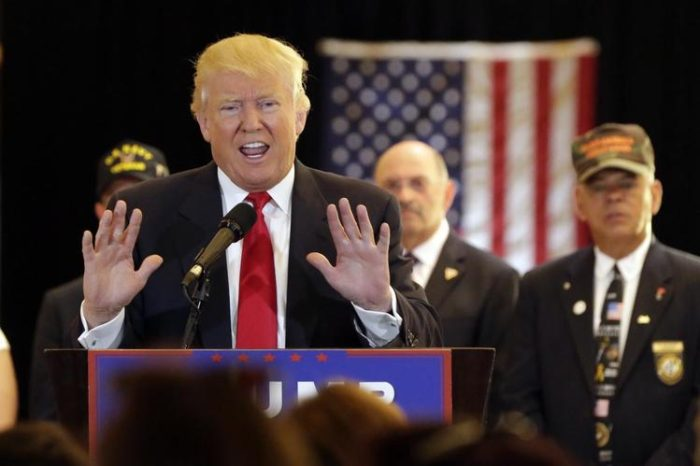 Donald Trump Rips 'SLEAZY' Media Over Vet Donations (Video)