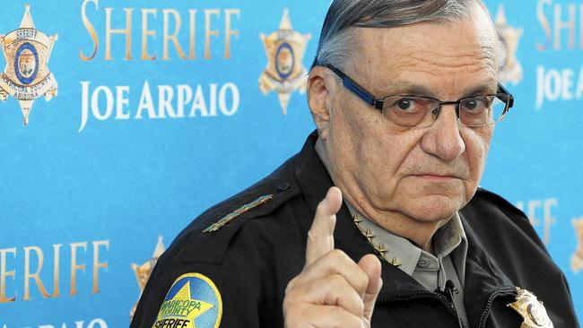 Sheriff Joe Arpaio Of Arizona Found In Contempt Of Court