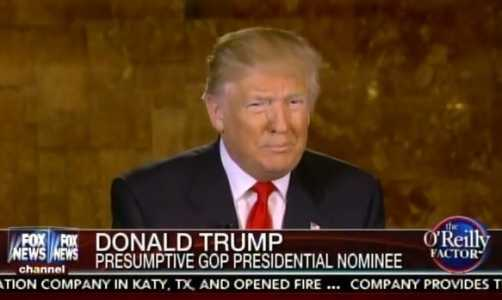 "Trump Tells Fox: ""Get Your Money Ready Because You're Going To Pay For The Wall"" (Video)"