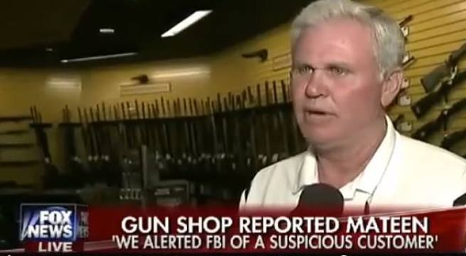 Gun Store Owner: We Called FBI Before Orlando Shooting (Video)