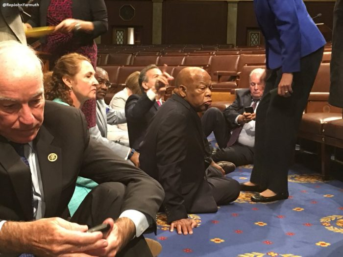 BREAKING: Democrats Stage 'Sit In' On House Floor For Gun Tantrum