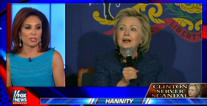 Watch Judge Jeanine Blast Hillary: 'Every Time She Opens Her Mouth, She LIES'