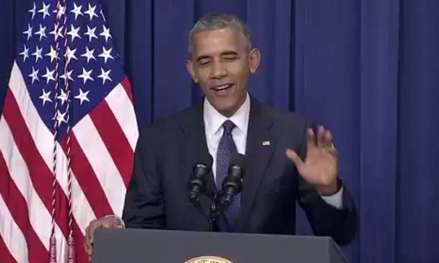 Grinning Obama JOKES During Statement On Munich Massacre (Video)