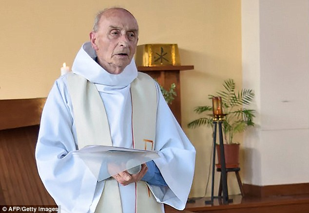 'Islamic State' Chanting Attackers 'Behead' Priest During Morning Mass In France