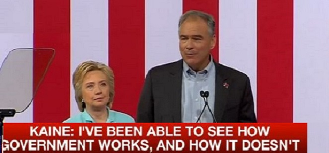 Kaine: 'Hillary And I Will Not Rest' Until Gun Reform Is Achieved' (Video)