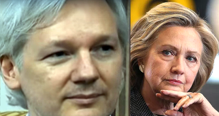 Wikileaks Assange: New Hillary Info Could Swing Election 'If It Catches Fire' (Video)