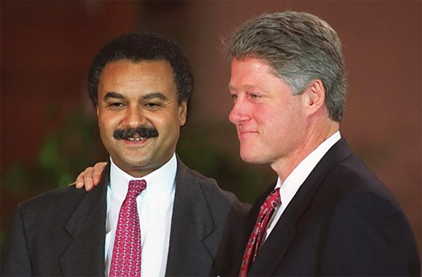 Bill-Clinton-Ron-Brown