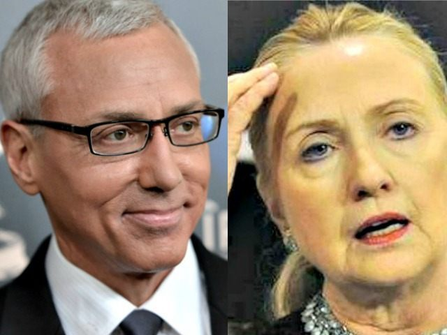 'Sudden Death': Dr. Drew Warns Of Coming Pulmonary Embolism With Hillary Clinton's 'Shoddy' Health