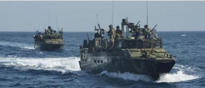 Four Iranian Vessels 'Harass' US Navy Ship In Strait Of Hormuz, Official Says (Video)