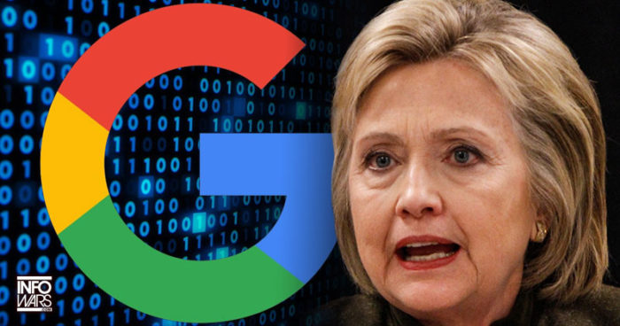 Google Is Censoring Search Results About Hillary Clinton's Health