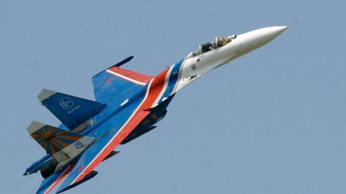Russian Jet Flies Dangerously Close To US Navy Spy Plane Over Black Sea (Video)