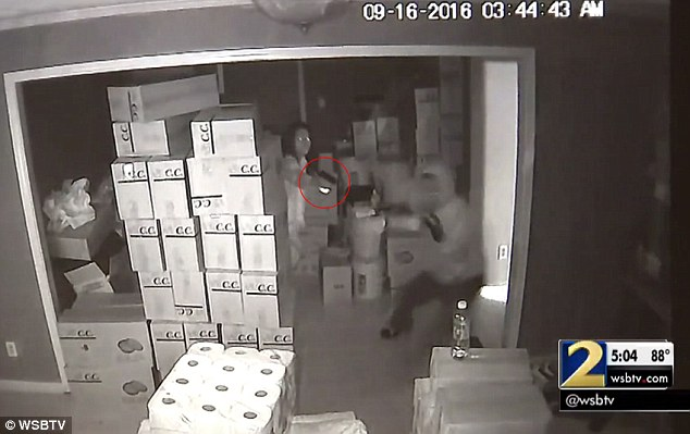 Incredible Footage Of Armed Woman Shooting Three Armed Burglars (Video)