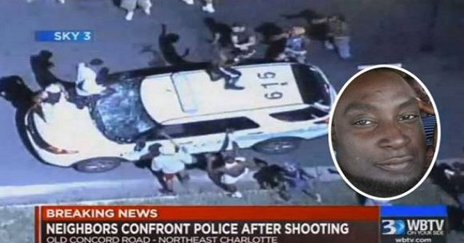 Protests Ignited By Fatal Police Shooting; 16 Officers Injured (Video)