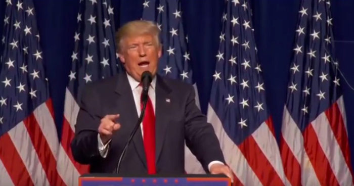"Trump: ""People Who Have Nothing To Hide Don't Smash Phones With Hammers"" (Video)"