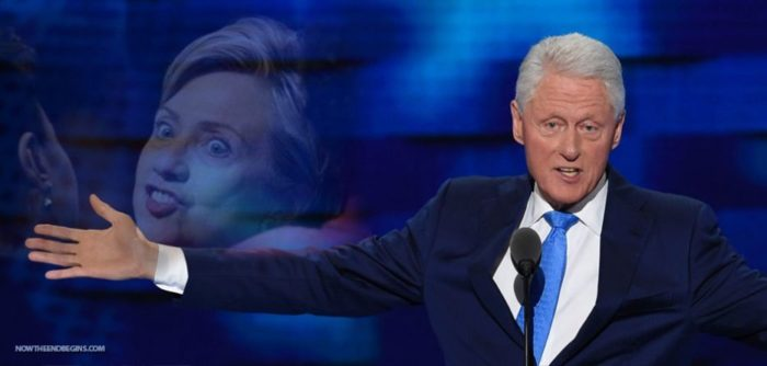 "Bill Clinton Says Hillary Collapsed Because She Is ""Working Like a Demon"" (Video)"