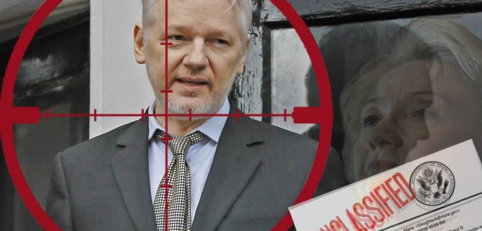 Hillary:  'Can't We Just Drone This Guy?' Wikileaks Tweets About Assange's Concerns (Video)