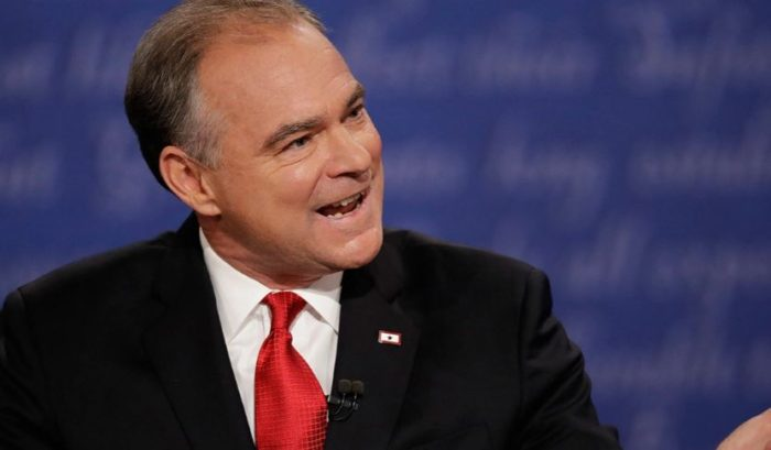 Tim Kaine 'The Interrupter' Hit For Debate Demeanor (Video)