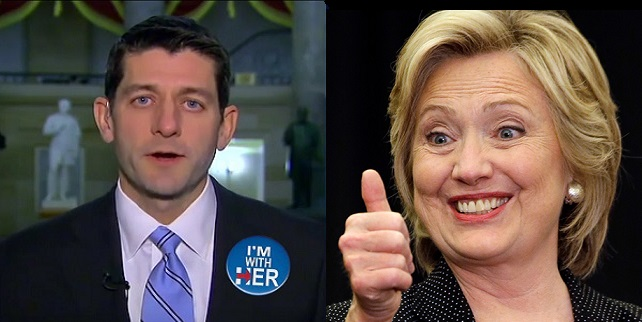 Wikileaks Reveals Paul Ryan Relative On Hillary's Short List For SCOTUS – Explains Disloyalty