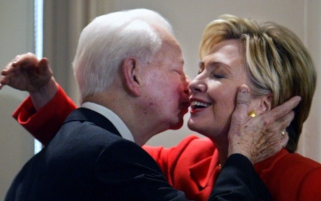 Remember When Hillary Praised Her 'Friend And Mentor' Fmr KKK Leader Robert Byrd (Video)