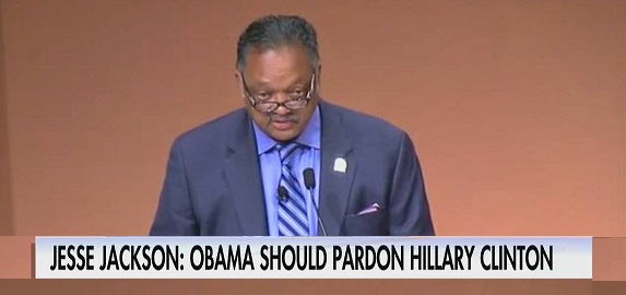 Jesse Jackson: 'President Obama Should Grant Hillary Clinton A Full Pardon' (Video)