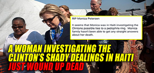 Woman Investigating Clinton Foundation CHILD SEX TRAFFICKING Just Found DEAD (Video)