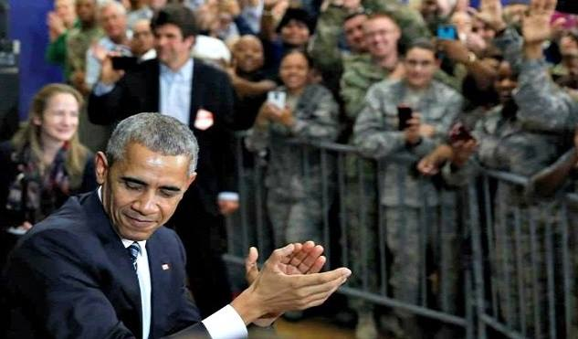 Obama Urges Soldiers To Question Trump's Authority, 'Criticize Our President' (Video)