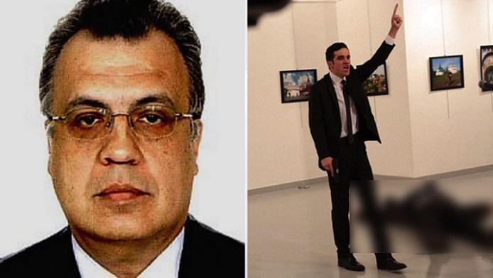 """BREAKING: Russian Ambassador To Turkey Shot Dead By Gunman Yelling """"Allahu Akbar"""" (Video)"""