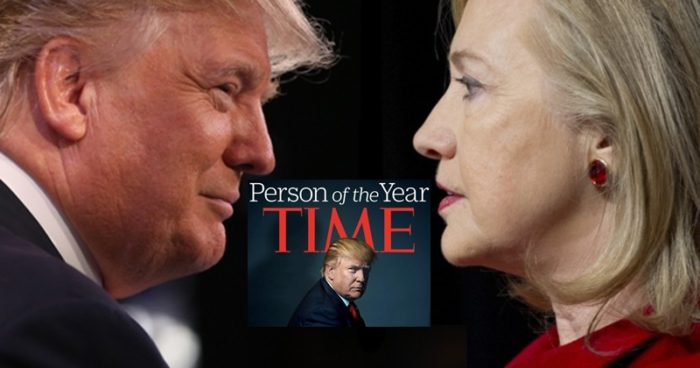 Time Magazine Brands Trump a 'Huckster,' Calls Hillary Clinton 'An American Moses'