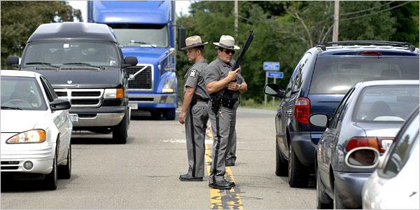 NY Sheriff's Detective Ambushed In Patrol Car – Manhunt Underway (Video)