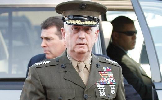 Sec. of Defense, Ret. Gen. Mattis Visits Pentagon, Tells Troops, 'It's Good To Be Back' (Video)