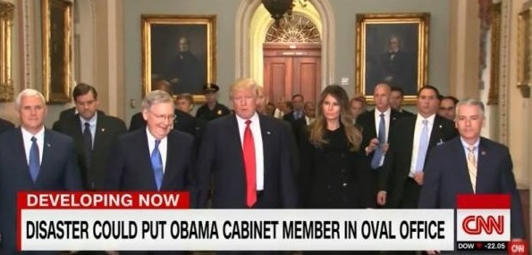 CNN: If Trump Is Killed During Inauguration, Obama Appointee Would Be President (Video)