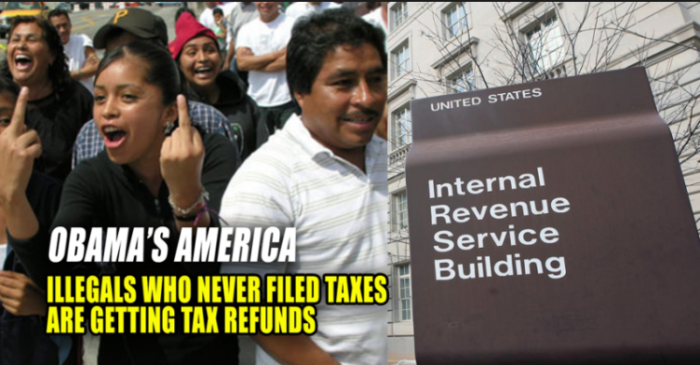 IRS Looks The Other Way While Aliens Commit Theft To Obtain Benefits (Video)