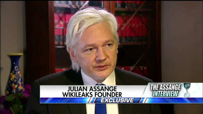 WikiLeaks' Assange: 'A 14-Year-Old Kid Could Have Hacked Podesta' Emails (Video)