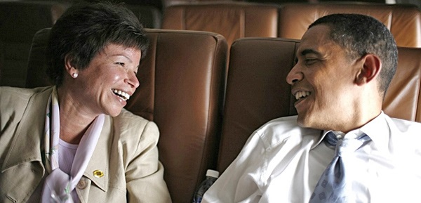 Valerie Jarrett: 'Obama Has Led A Scandal Free Administration' (Video)