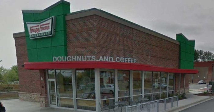 Krispy Kreme Gives Cop A Box Of Black Lives Matter Instead Of Doughnuts