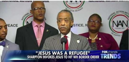EPIC Backlash: Al Sharpton Slammed For Calling Jesus a 'Refugee' (Video)