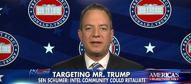 Priebus Defends Trump; Says Media Has 'Obsession' To 'Delegitimize' President (Video)