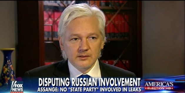 Julian Assange Exclusive Interview: Message To Obama About Russia And Hacked Emails (Video)