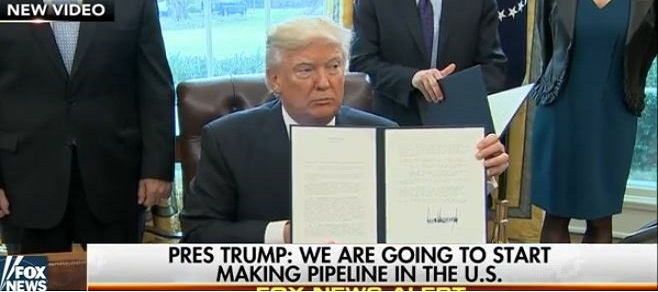 Trump Signs 5 Executive Orders, Says SCOTUS Pick Will Come Next Week (Video)