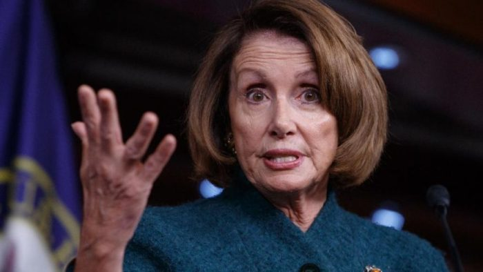 "Nancy Pelosi Repeatedly Calls Steve Bannon A ""White Supremacist"" (Video)"