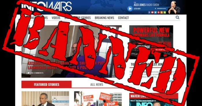 Bombshell: Major Ad Agency Suspends Infowars Over Support For Trump (Video)
