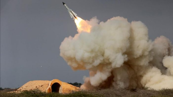 Iran Pulls Missile From Launchpad After Apparent Prep For Launch, US Officials Say (Video)
