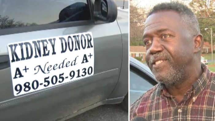 Veteran In Search Of Kidney Donor Turns Car Into Mobile Advertisement (Video)