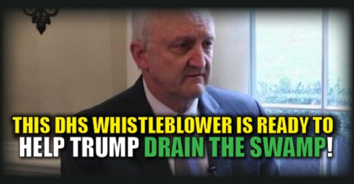 DHS Whistleblower Ready To Spill The Beans To Trump: 'I Know Where The Valves Are -We'll Need 'Hazmat Suits' (Video)